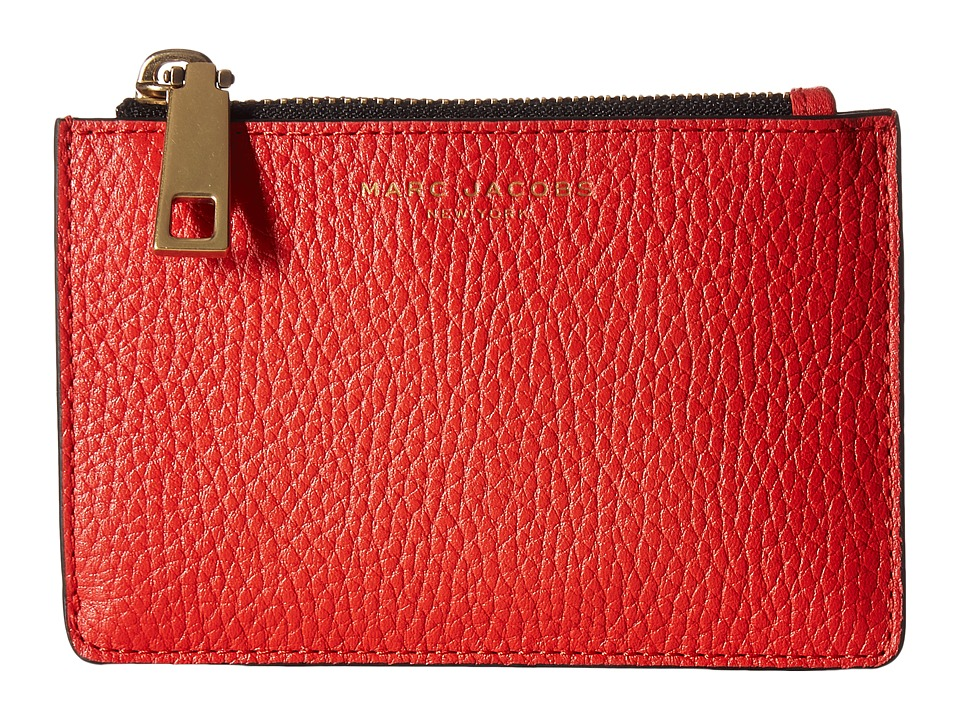 Marc Jacobs - Gotham Top Zip Multi Case (Lava Red) Handbags