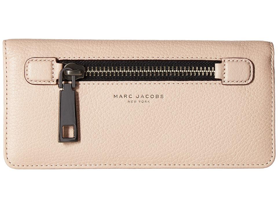 Marc Jacobs - Gotham Open Face Wallet (Pale Pink) Wallet Handbags