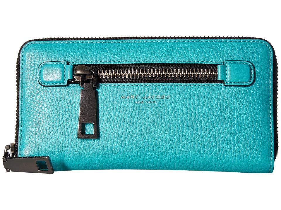 Marc Jacobs - Gotham Continental Wallet (Caribbean) Wallet Handbags