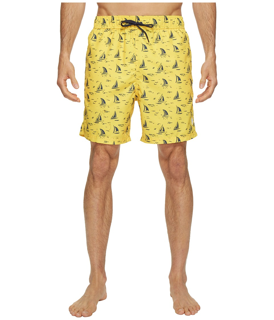 U.S. POLO ASSN. - Sailboat Swim Shorts (Cape Yellow) Men's Swimwear