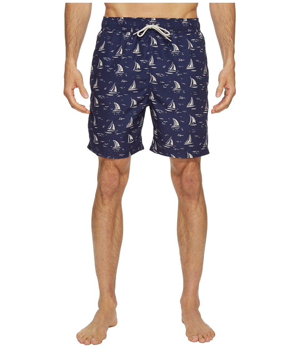 U.S. POLO ASSN. - Sailboat Swim Shorts (Dodger Blue) Men's Swimwear