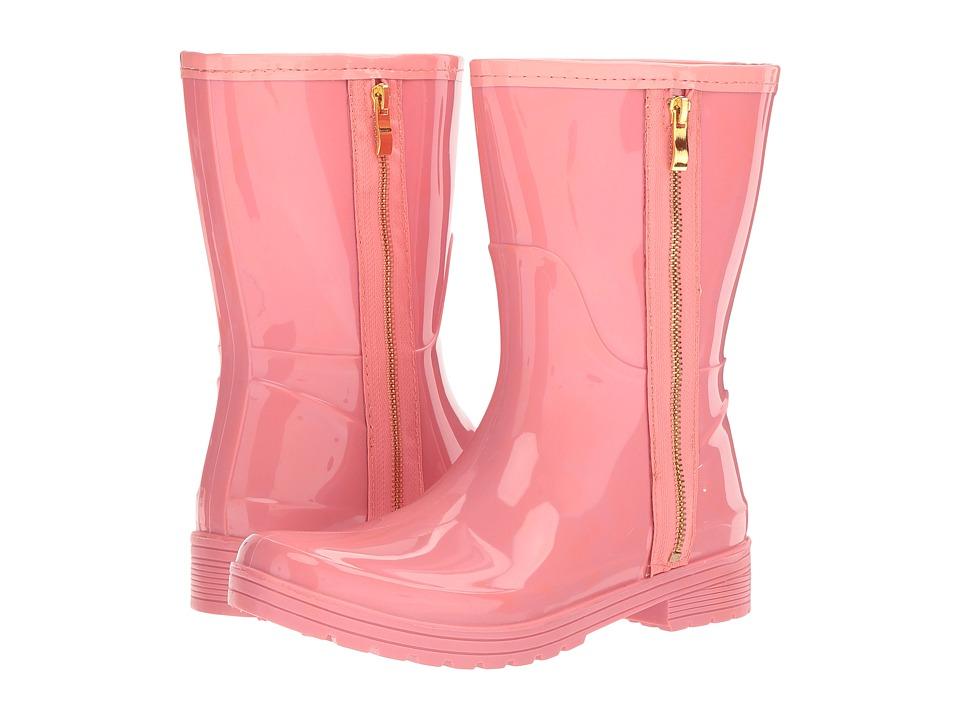 Kenneth Cole Unlisted - Rain Zip (Salmon PVC) Women's Rain Boots