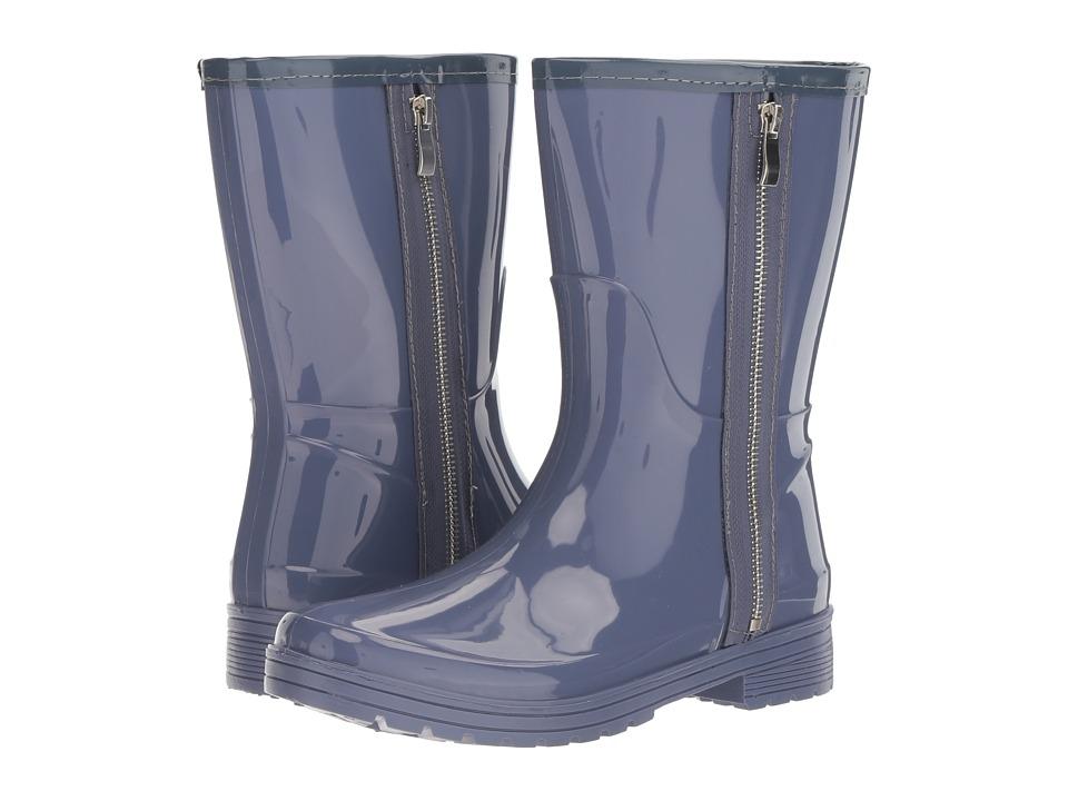 Kenneth Cole Unlisted Rain Zip (Dusty Blue PVC) Women