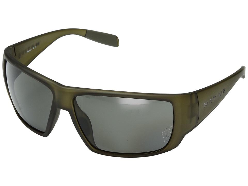Native Eyewear - Sightcaster (Matte Moss) Sport Sunglasses