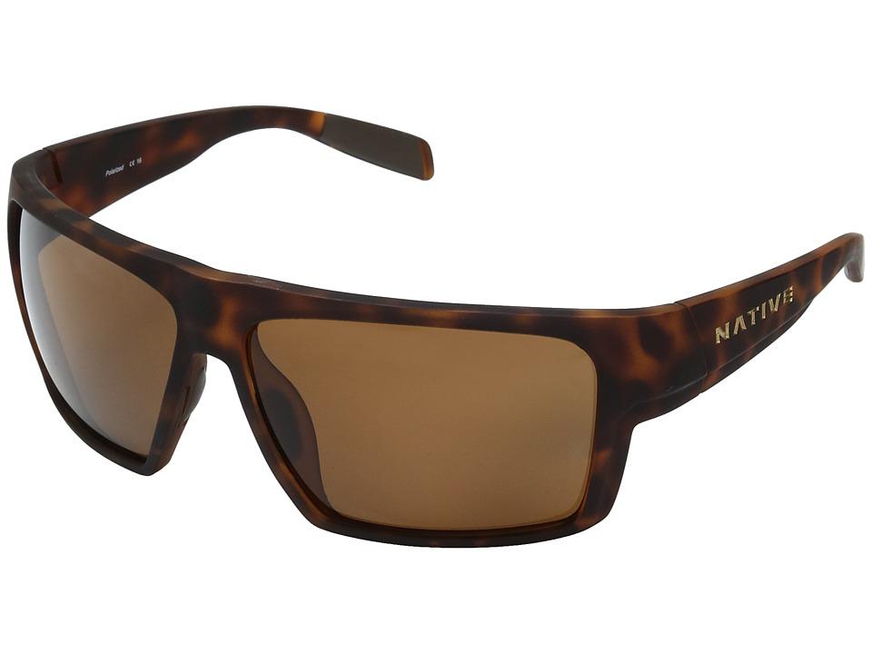 Native Eyewear - Eldo (Desert Tort) Sport Sunglasses