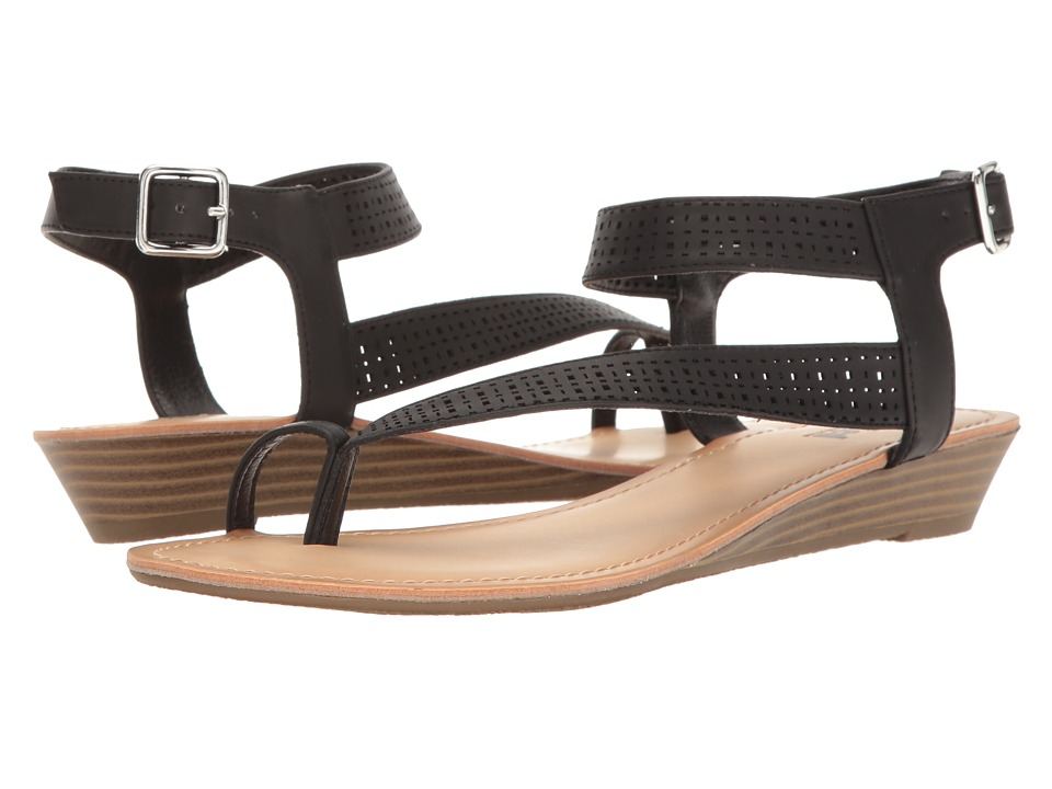 Kenneth Cole Unlisted - Color Mix (Black Synthetic) Women's Sandals