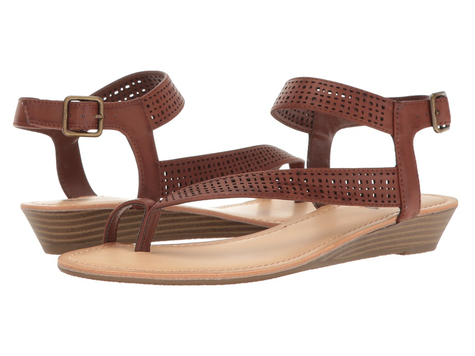 Kenneth Cole Unlisted - Color Mix (Luggage Synthetic) Women's Sandals
