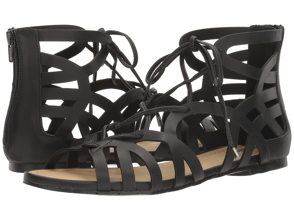 Kenneth Cole Unlisted - Perfect Stand (Black Rossi PU) Women's Sandals