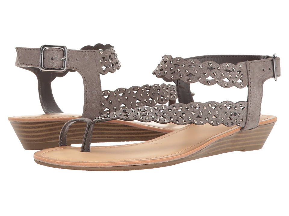 Kenneth Cole Unlisted - Color Chain (Pewter Synthetic) Women's Sandals