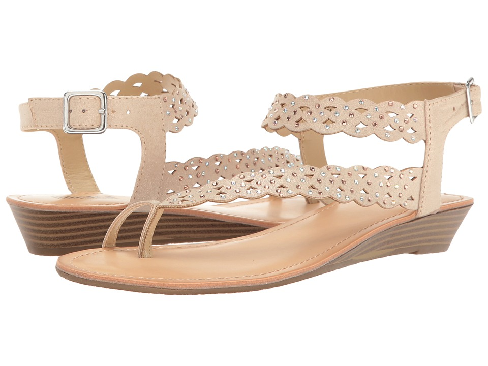 Kenneth Cole Unlisted - Color Chain (Champagne Synthetic) Women's Sandals