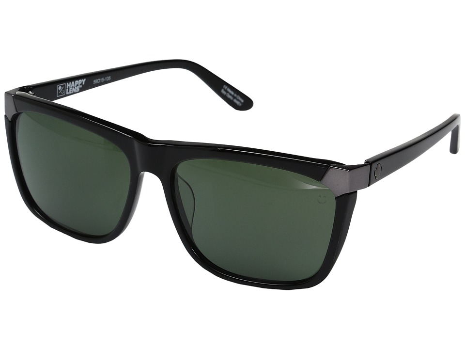 Spy Optic - Emerson (Black/Happy Gray Green) Sport Sunglasses