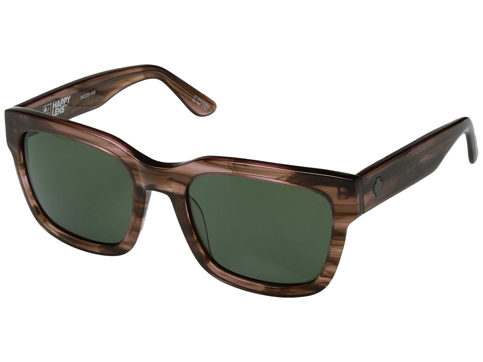 Spy Optic Trancas (Pink Smoke/Happy Gray Green) Sport Sunglasses