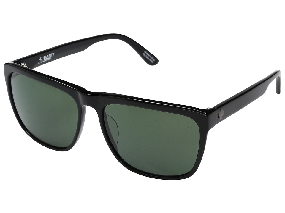 Spy Optic - Neptune (Black/Happy Gray Green) Fashion Sunglasses