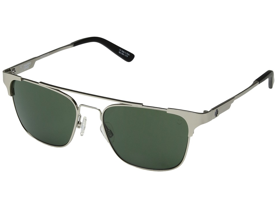 Spy Optic Westport (Matte Silver/Happy Gray Green) Sport Sunglasses