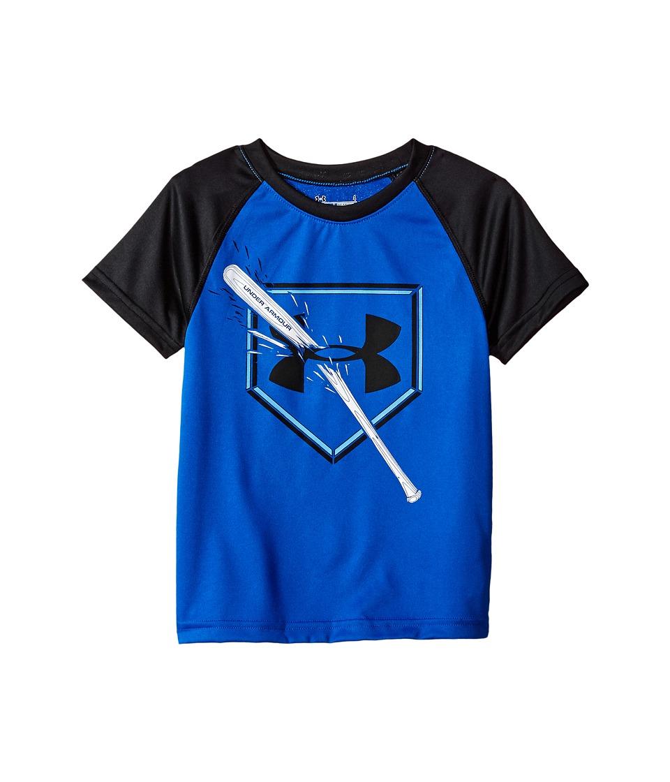 Under Armour Kids - Breaking Bat Raglan Short Sleeve (Toddler) (Ultra Blue) Boy's Clothing