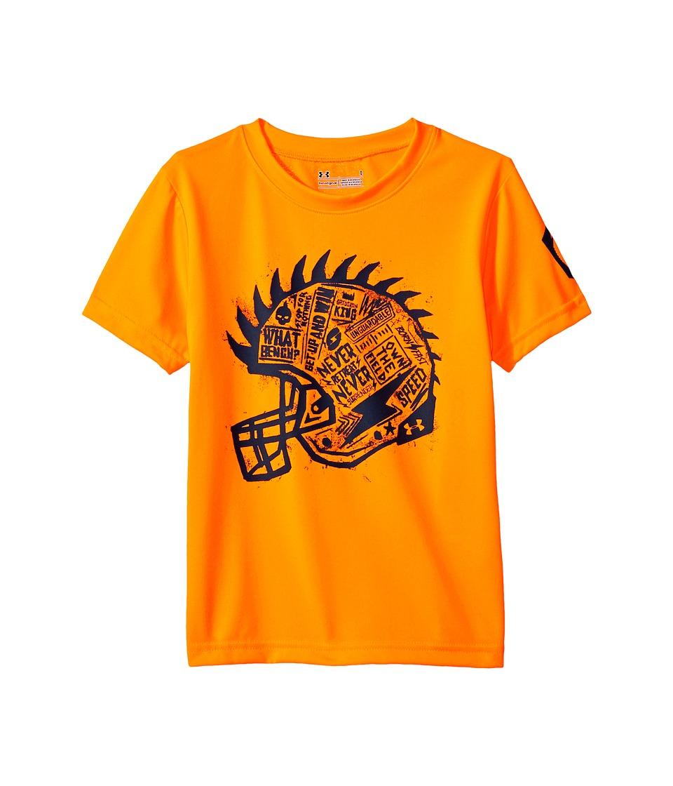 Under Armour Kids - Never Retreat Short Sleeve (Toddler) (Traffic Cone Orange) Boy's Clothing