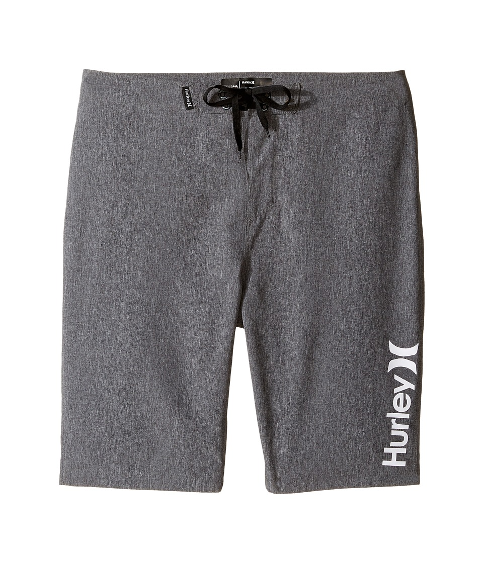 Hurley Kids Heathered Boardshorts (Big Kids) (Black Heather) Boy