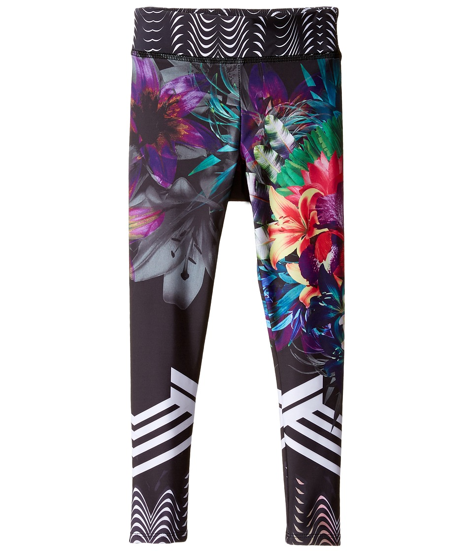 Onzie Kids - Graphic Leggings (Little Kids/Big Kids) (Tiger Lily) Girl's Casual Pants