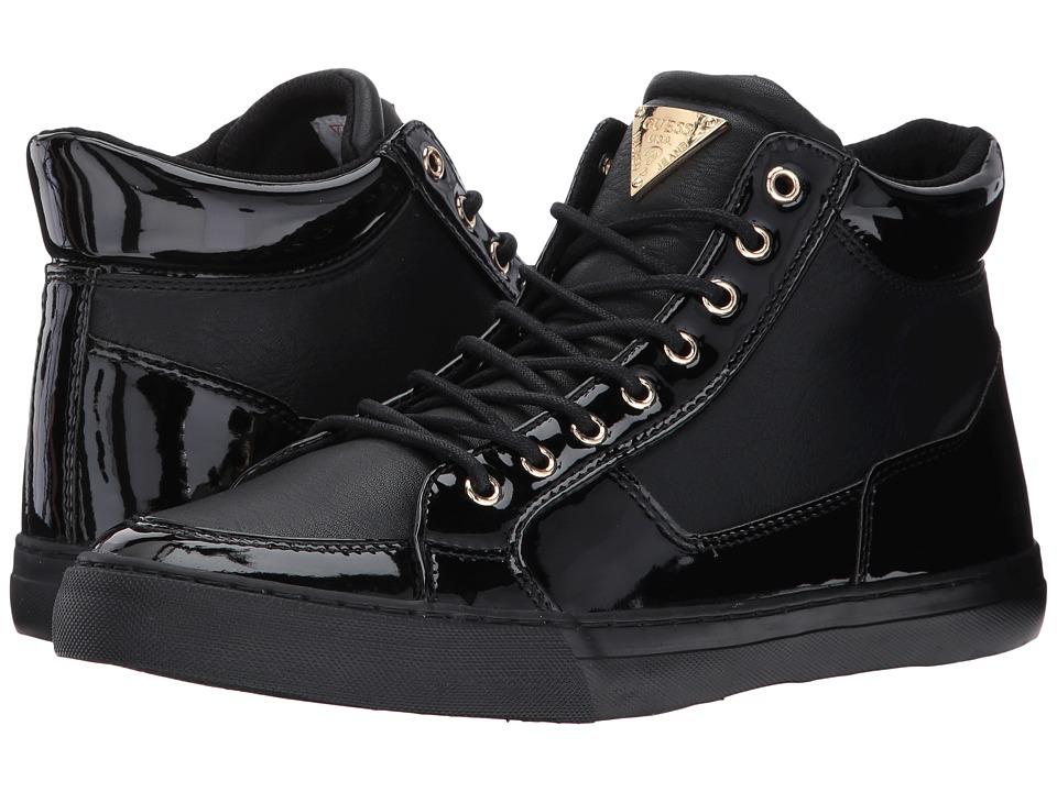 GUESS - Marrow (Black) Men's Shoes