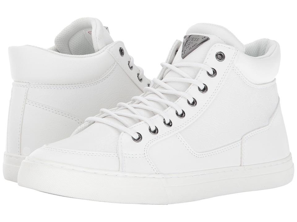 GUESS - Marrow (White) Men's Shoes