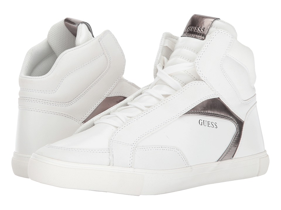 GUESS - Milo (White) Men's Shoes