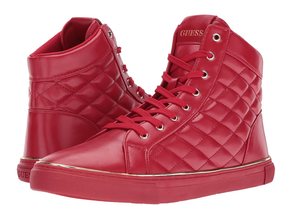 GUESS - Montelo (Red) Men's Shoes