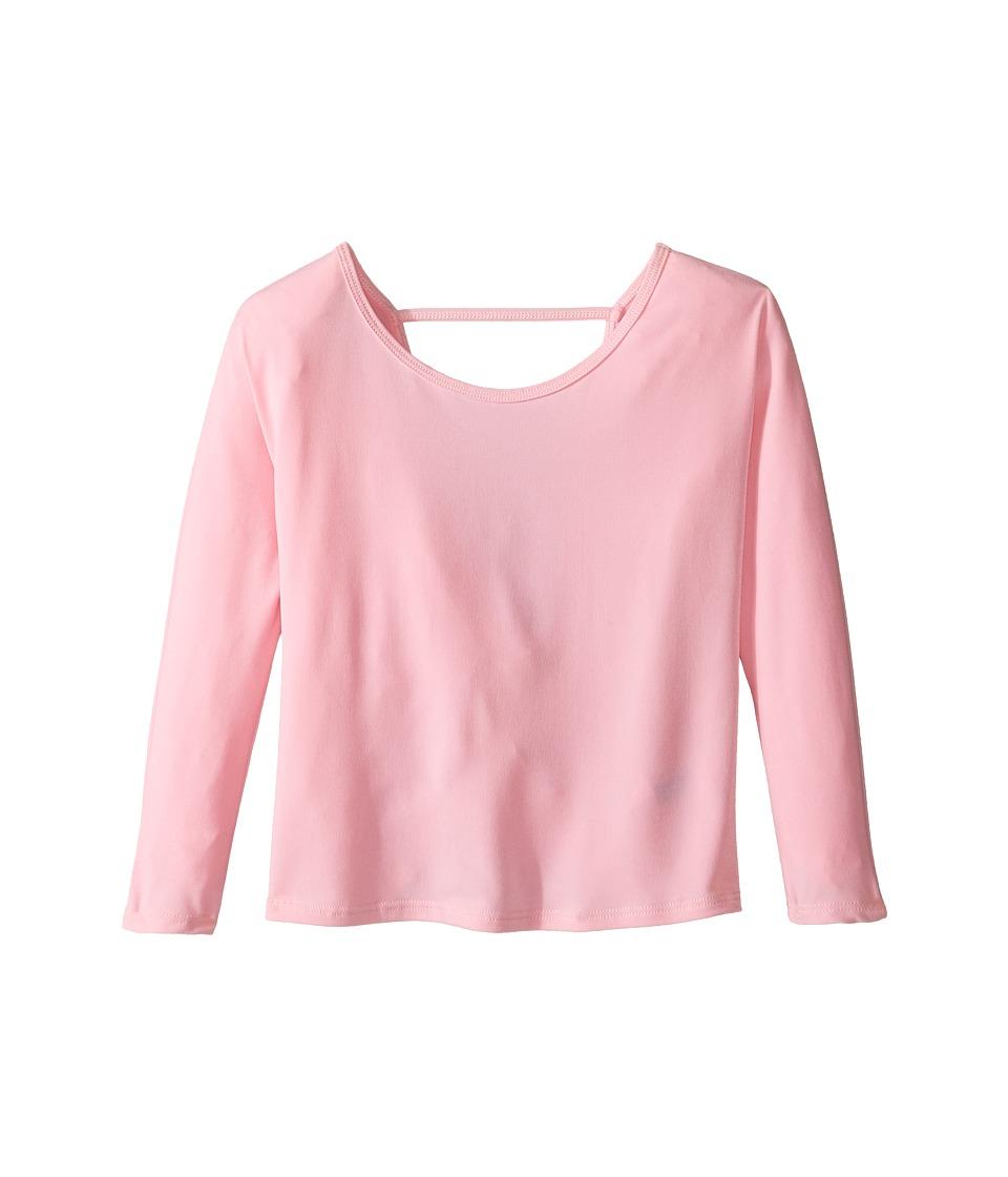 Onzie Kids - Scoop Back Top (Big Kids) (Light Pink) Girl's Clothing
