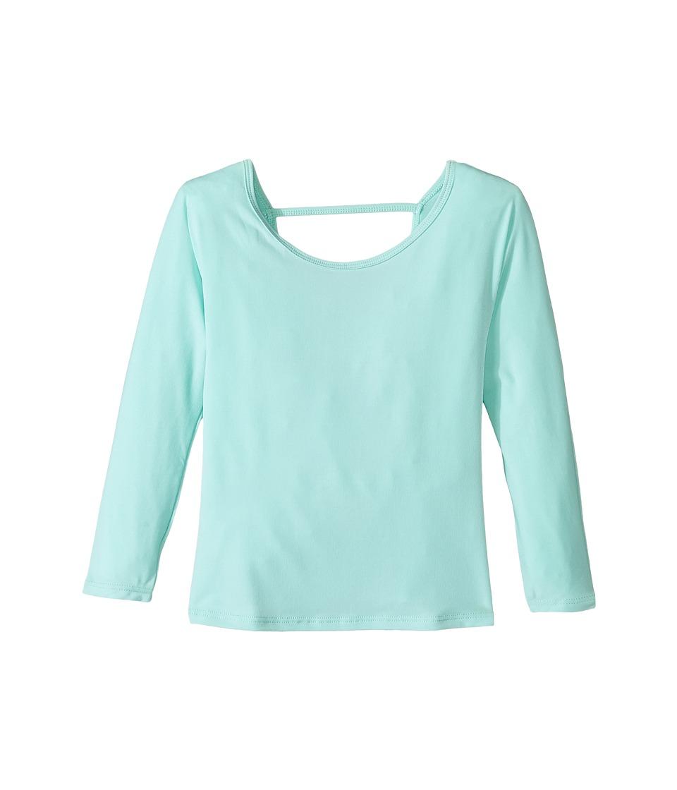 Onzie Kids - Scoop Back Top (Big Kids) (Mint) Girl's Clothing