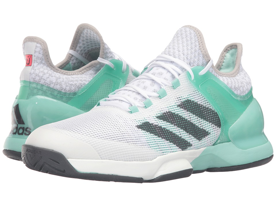 adidas - Adizero Ubersonic 2 (Ice Green/Dark Solar Green/White) Men's Shoes
