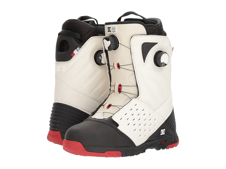 DC - Torestein Horgmo (White/Black/Red) Men's Snow Shoes