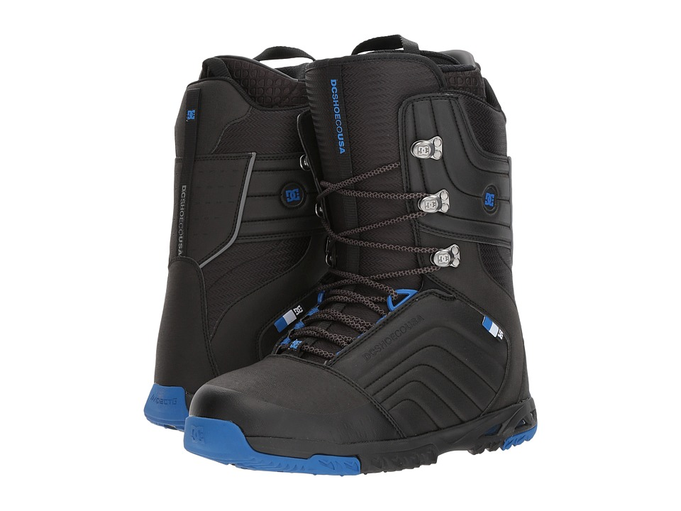 DC - Scendent (Black/Blue) Men's Cold Weather Boots