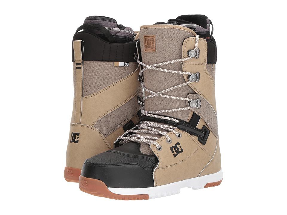 DC - Mutiny (Brown) Men's Snow Shoes