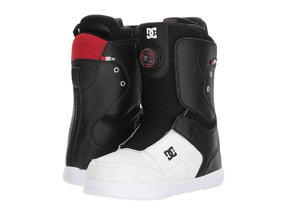 DC - Scout (Black/White) Men's Snow Shoes