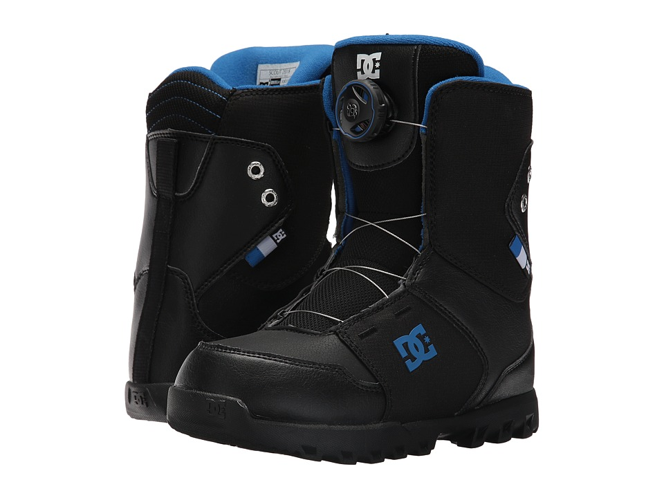 DC - Scout (Little Kid/Big Kid) (Black 1) Men's Cold Weather Boots