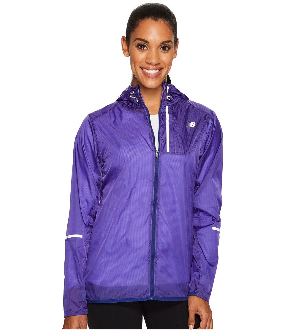 New Balance Lite Packable Jacket (Thunder) Women