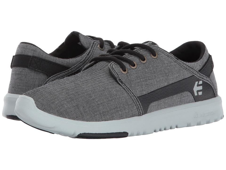 etnies Scout (Grey/Black) Men's Skate Shoes