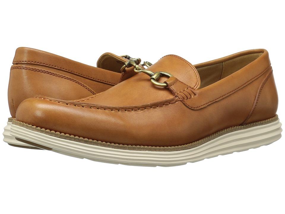 Cole Haan - Original Grand Venetian Bit II (Pecan/Ivory) Men's Shoes