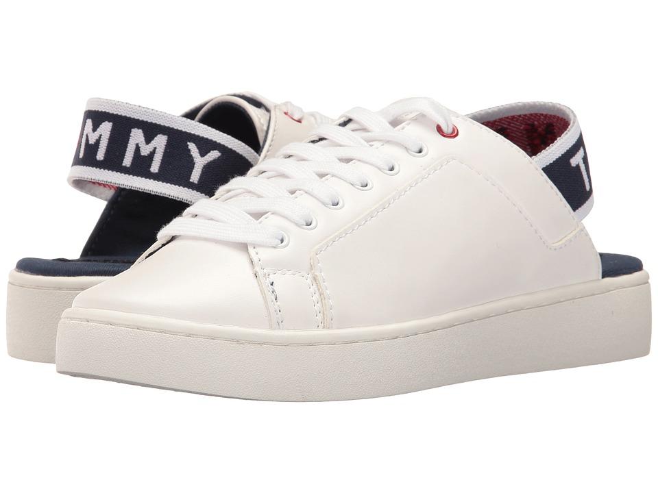 Tommy Hilfiger - Sabba (White) Women's Shoes