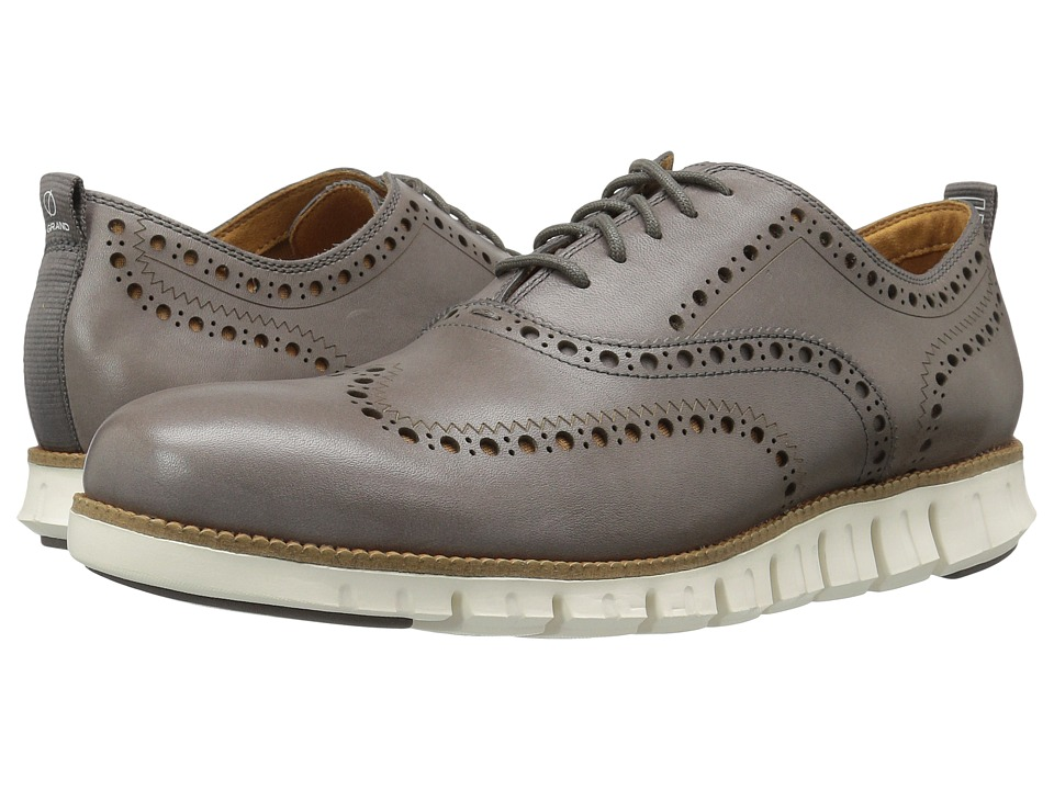 Cole Haan ZeroGrand Wingtip Oxford II (Storm Cloud) Men