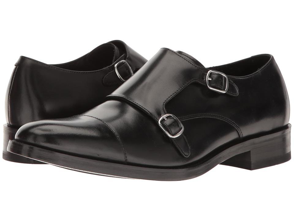 Cole Haan - Madison Double Monk II (Black) Men's Monkstrap Shoes