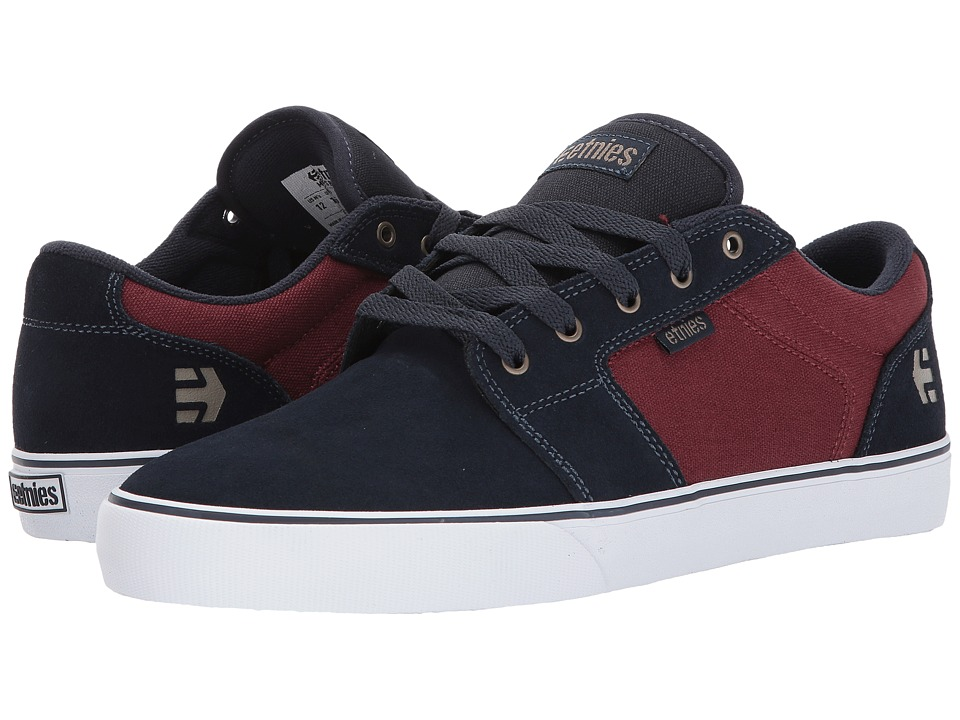 etnies Barge LS (Navy/Red/White) Men