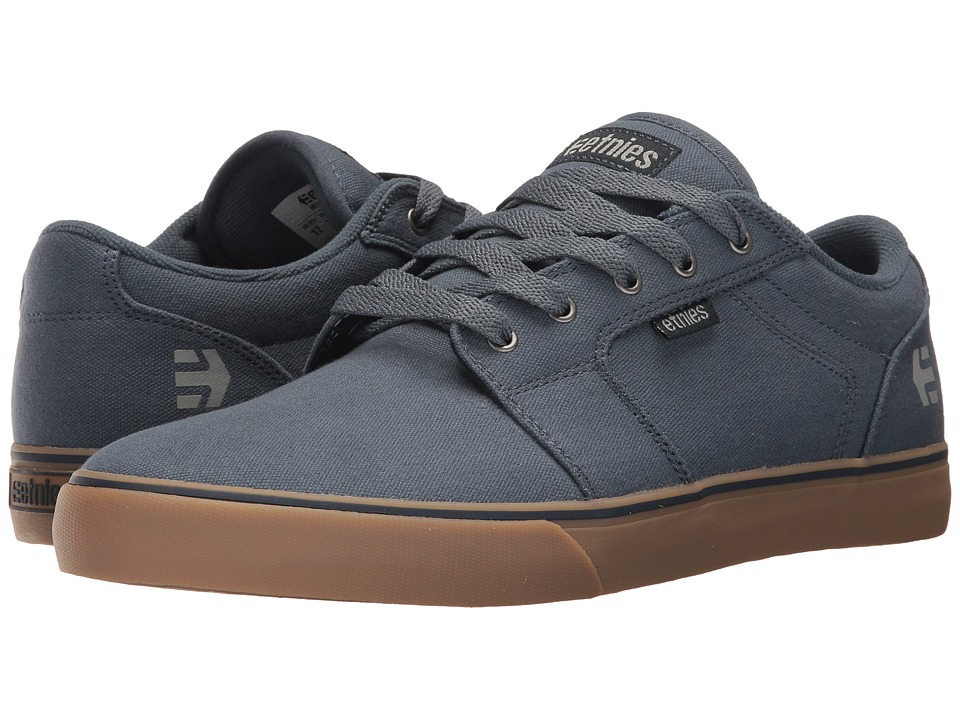 etnies - Barge LS (Slate) Men's Skate Shoes