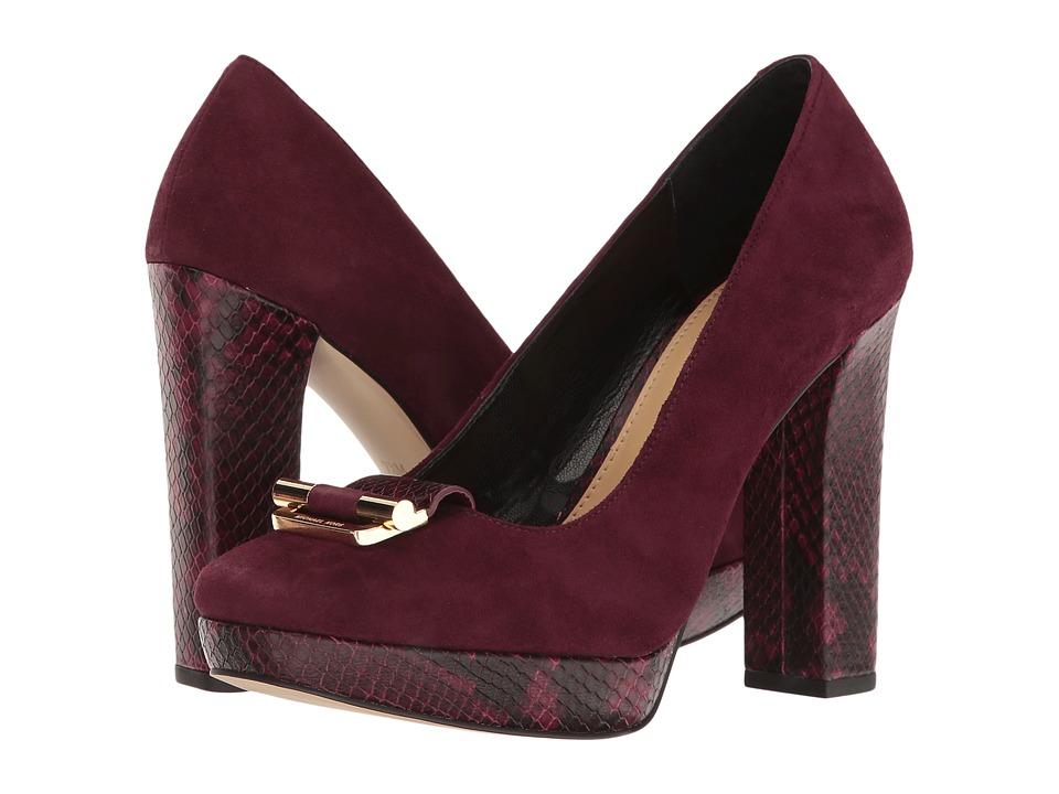 MICHAEL Michael Kors - Gloria Pump (Plum) Women's Shoes