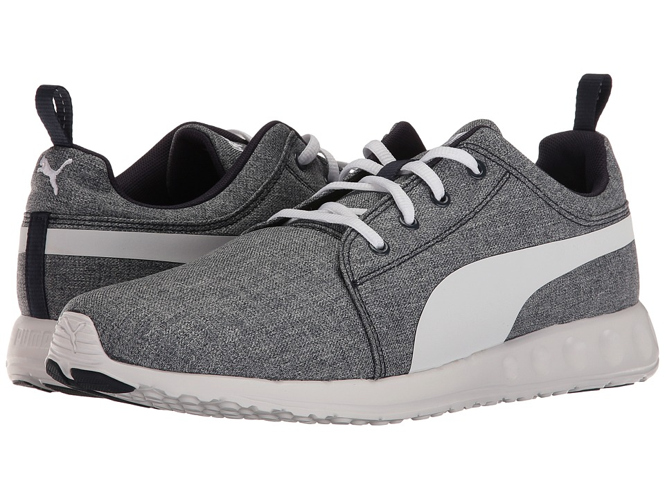 PUMA - Carson Runner DT Denim (Peacoat/Black) Men's Shoes