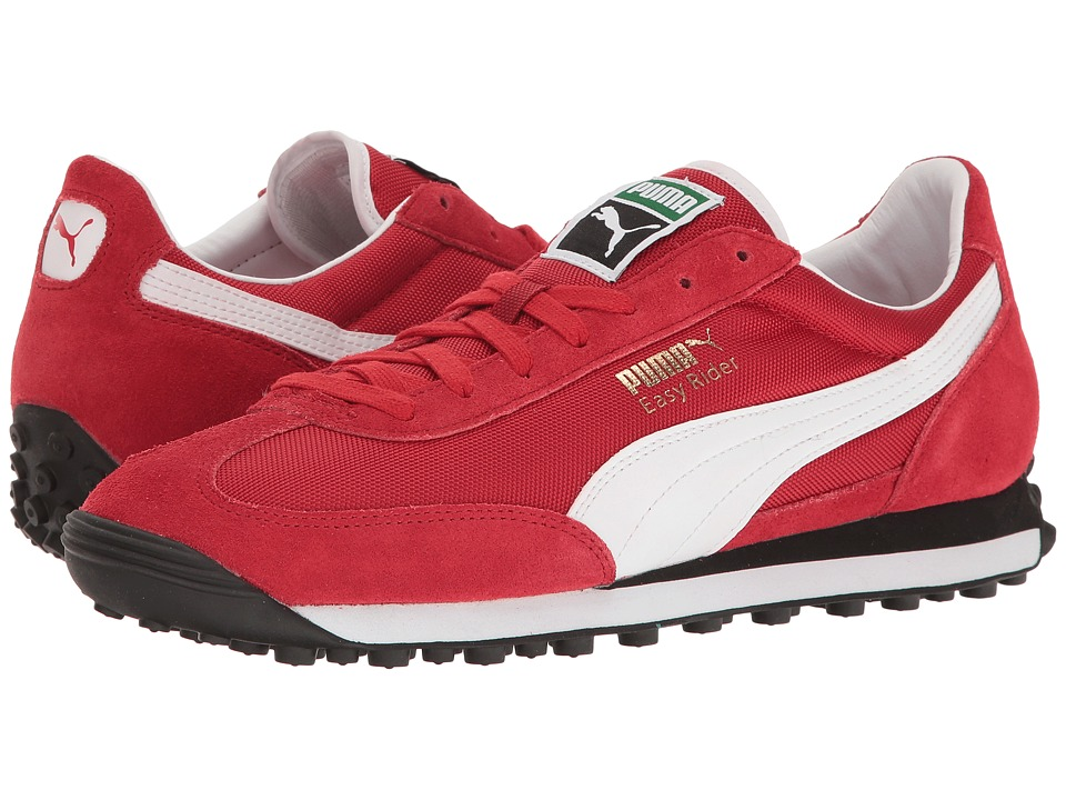 PUMA - Easy Rider (Barbados Cherry/Puma White) Men's Shoes