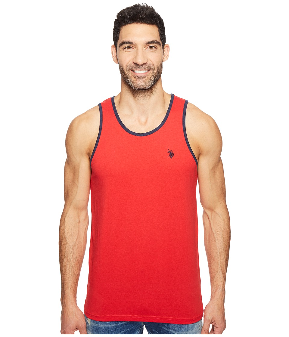 U.S. POLO ASSN. - Tank Top (Engine Red) Men's Sleeveless