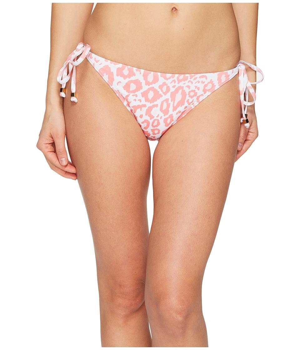 Letarte - Ikat Leopard Bottom (Pink Coral Multi) Women's Swimwear