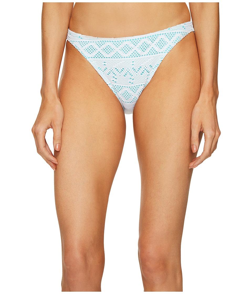 Letarte Lace Medium Coverage Bottom (White Multi) Women