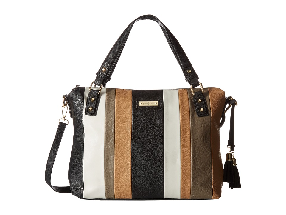 Jessica Simpson - Vesey Satchel (Black Multi) Satchel Handbags