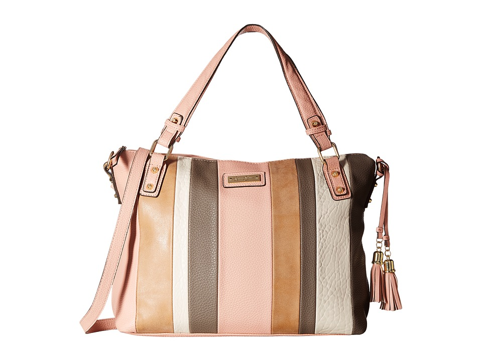 Jessica Simpson - Vesey Satchel (Vintage Rose Multi) Satchel Handbags